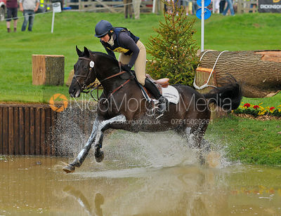 Hillocks Black Jack and Phoebe Buckley, Bramham Horse Trials, 2010