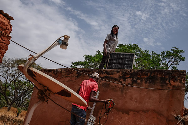 Solar Rural Electrification in Burkina Faso
