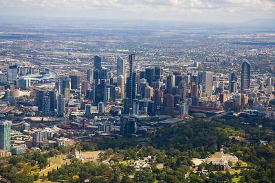 Aerial view of Melbourne No.3