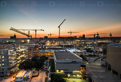 Construction Project Near University of Texas at Austin Texas USA