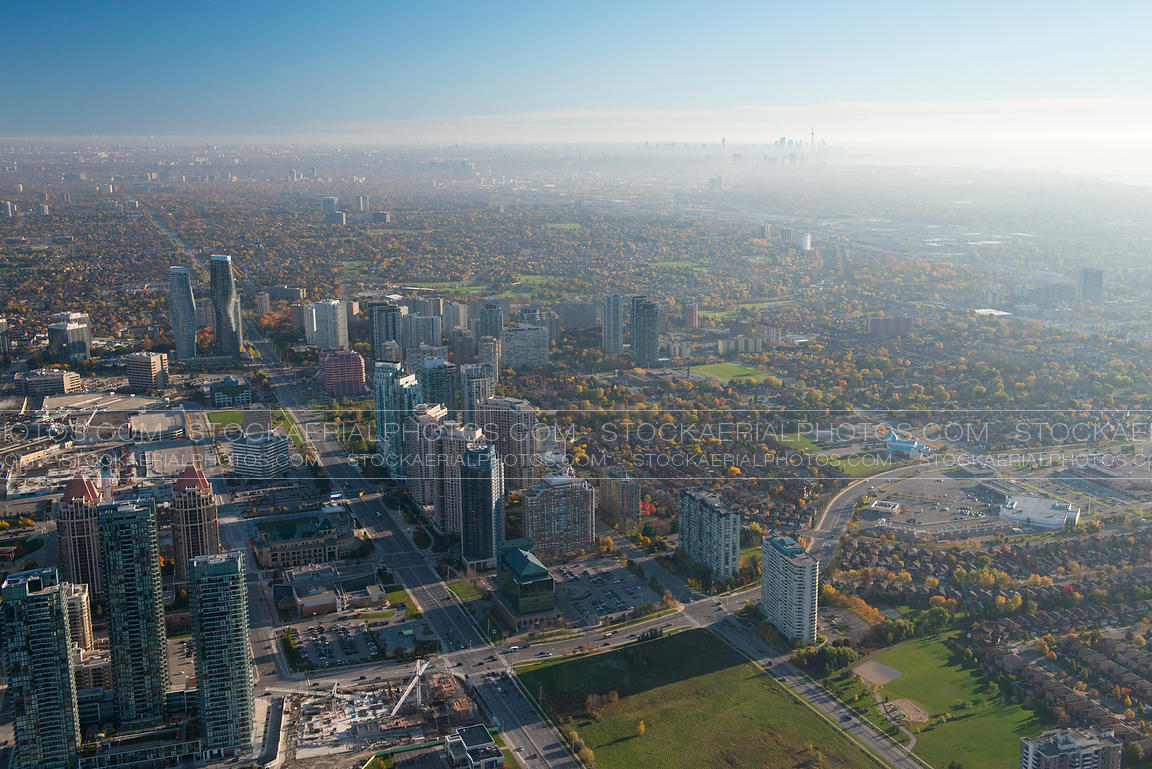 Mississauga City Skyline