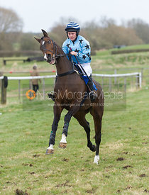 Duke of Stradone (Sophie Harding), Charity Flat Race, Div I - The Quorn at Garthorpe 21st April 2013.