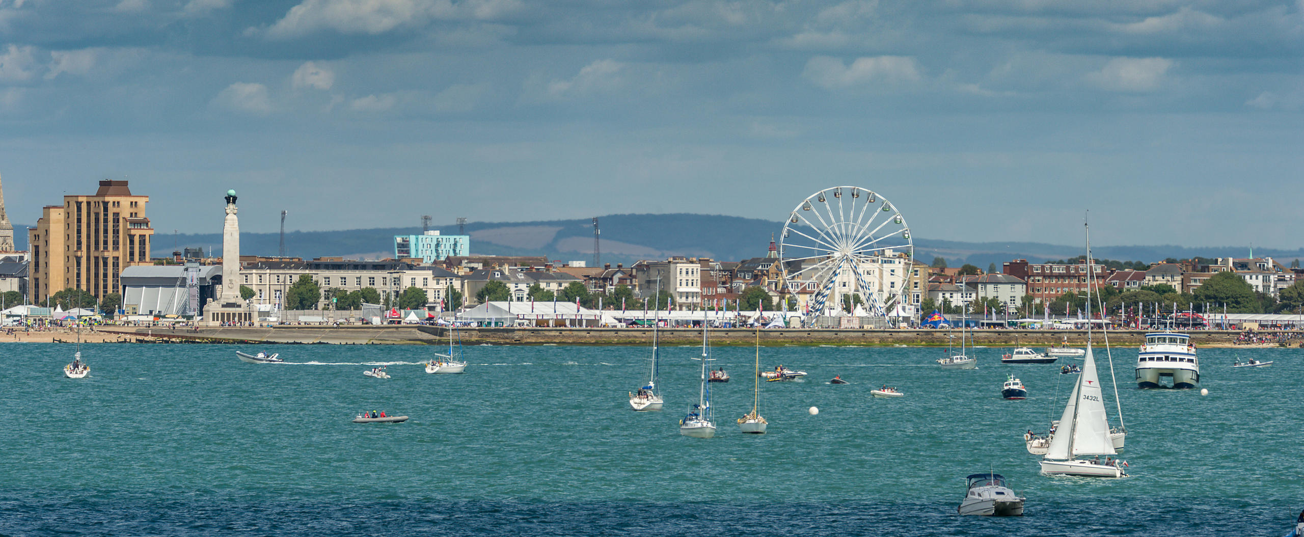Southsea Seafront During America's Cup Portsmouth 2015