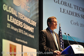 At the ITLG Global Technology Leaders Summit in partnership with Cork City Council, Cork Chamber, UCC and CIT.  The GTL Summi...