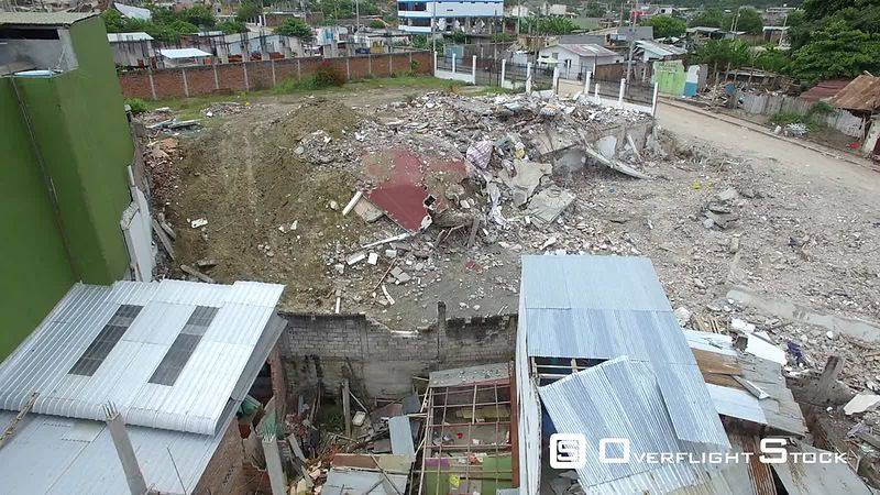 April 16, 2016 Pedernales, Ecuador Earthquake Damage