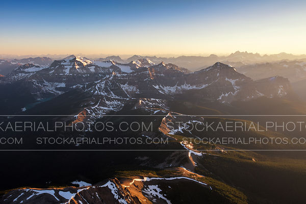 Rocky Mountains Sunset