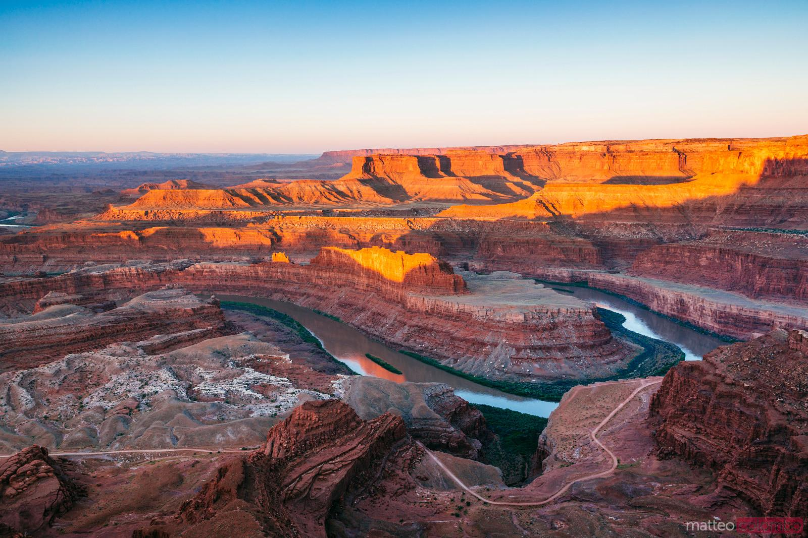 Sunrise at Dead Horse point, Canyonlands, USA