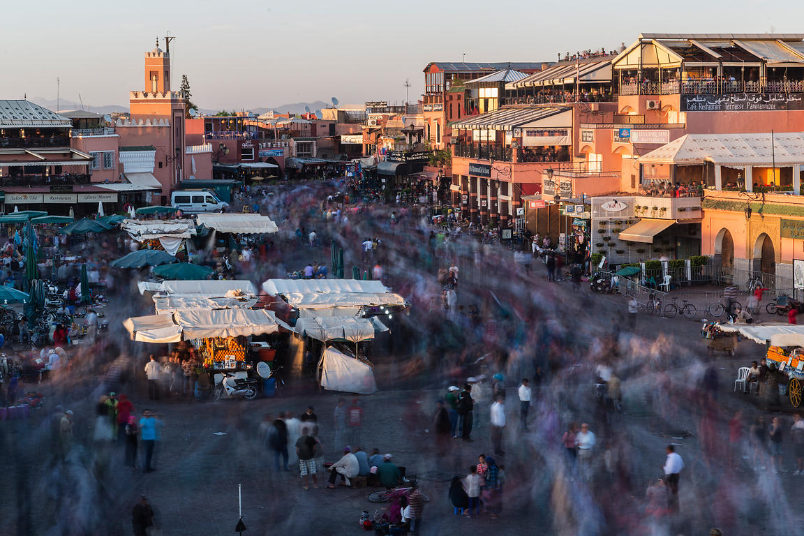The Main Square Djemaa El-Fna