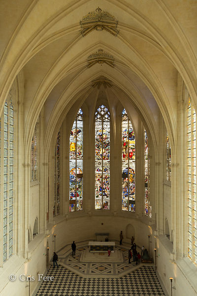 France, Paris, Château de Vincennes, Chapelle