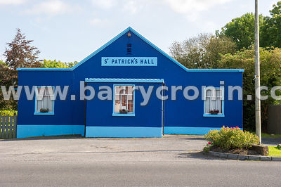 5th September, 2015.Tyrrellspass, County Westmeath. Pictured from left:St. Patrick's Hall.Photo:Barry Cronin/www.barrycronin....