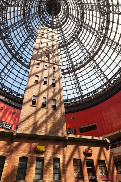 Melbourne Central shopping center, Coop's Shot Tower. Australia