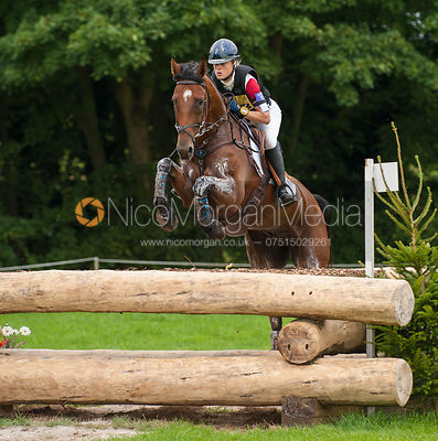 Camilla Speirs and BT BORDER BANDIT - cross country - CIC** - Somerford Park (2) Horse Trials 19/8/12