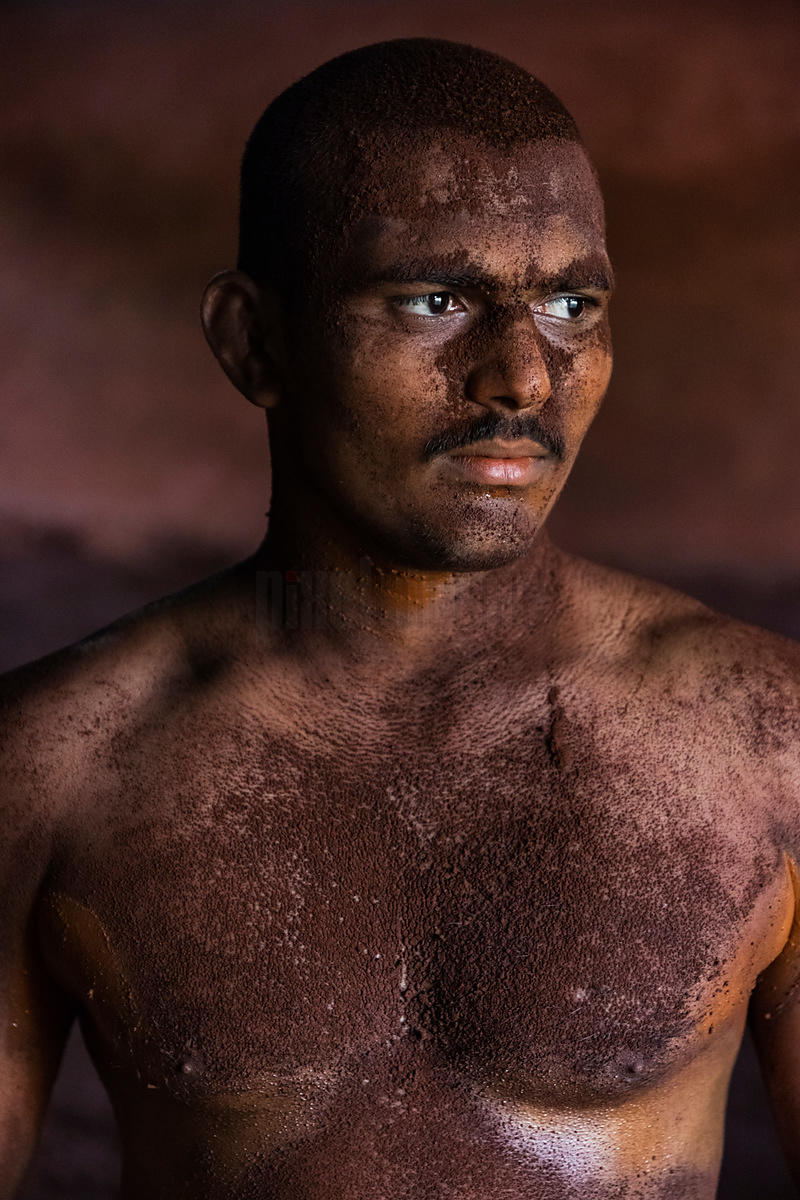 Portrait of a Kushti Wrestler