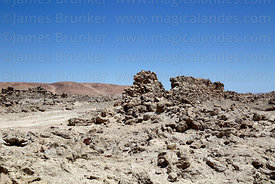 Ruins of San Francisco nitrate mining town, Region I, Chile