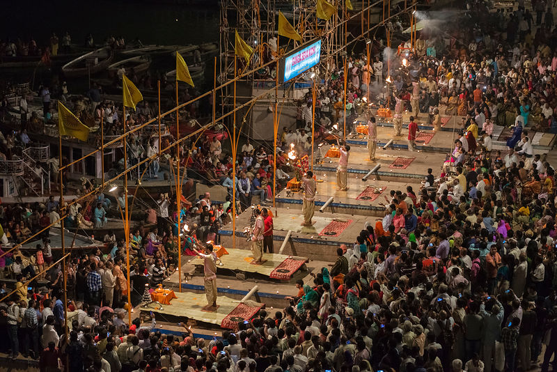 Aarti Ceremony at Dasashwamedh Ghat