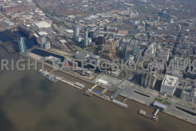 Liverpool Princes Docklands developments and Pier Head Liverpool Waterfront