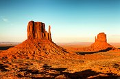 Monument Valley National Park Near Sunset