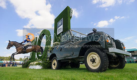 Emilie Chandler and COOPERS LAW, cross country phase, Land Rover Burghley Horse Trials 2018