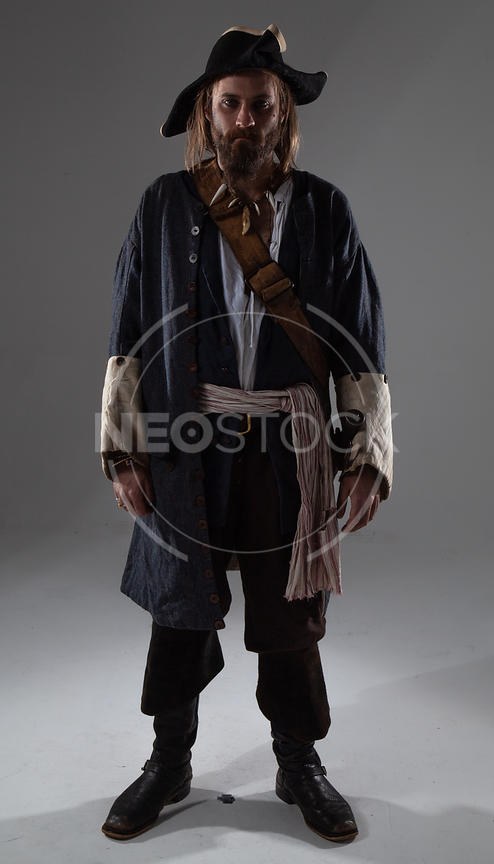 Karlos Pirate Rogue Stock Photography