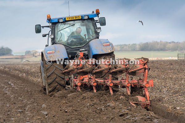 Hutchinson Photography - Farm Images | Ploughing a field