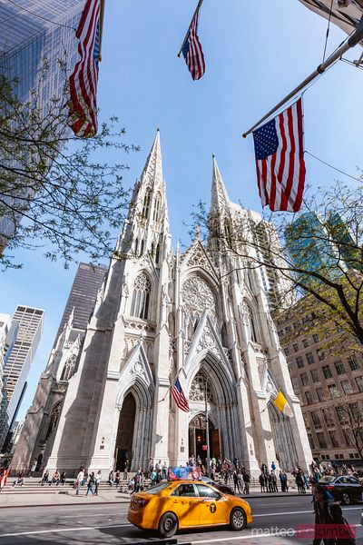 St. Patrick cathedral, Fifth avenue, New York city, USA