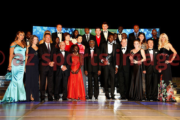 Top Athletes gathered at IAAF Gala Monaco  event. Usain Bolt and Sally Pearson are Athletes of this year.