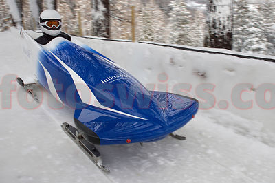 Bobsleigh - St.Moritz Winter Stock Pictures