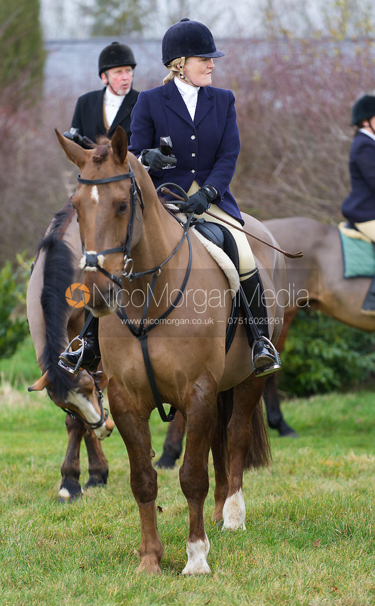 Lulu Carter at the meet in Pickworth