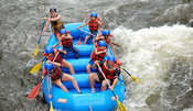 River rafting in Colorado Poudre River