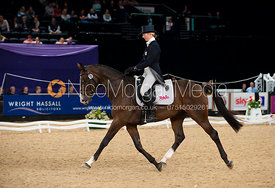 Georgie Spence and Wii Limbo - HOYS - Express Eventing Dressage