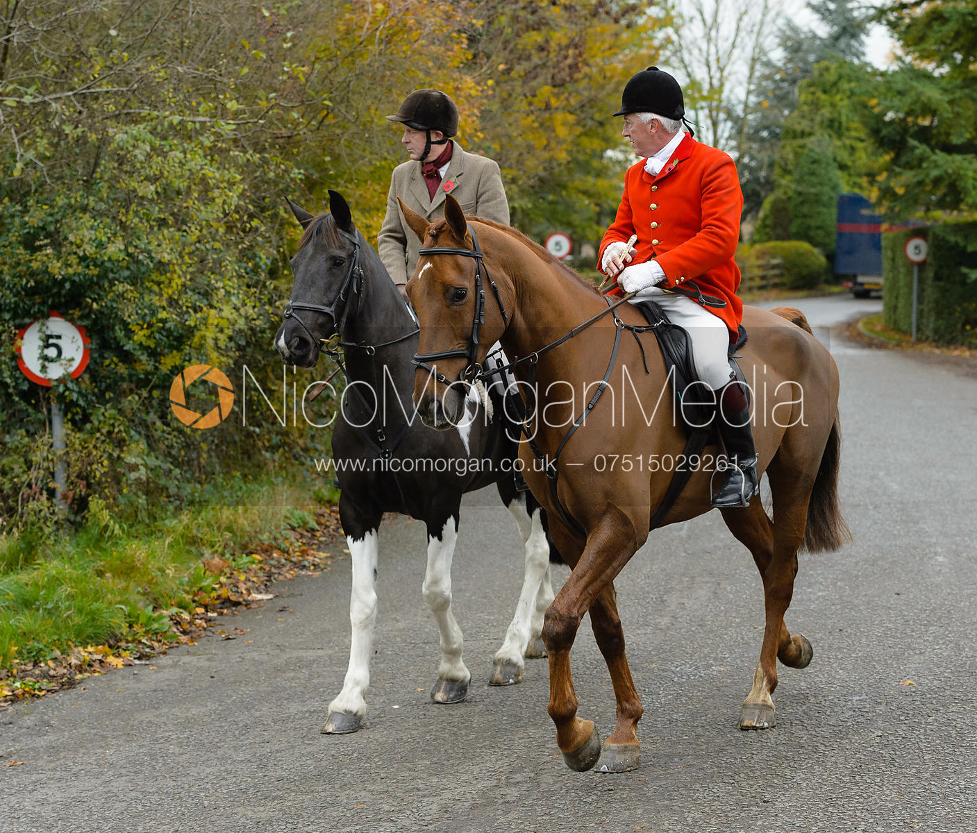The Belvoir Hunt at Debdale Farm