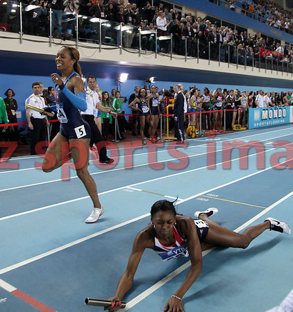 Sanya Richards-Ross (USA),Perri Shakes-Drayton (GBR)