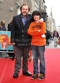 """NOT ANOTHER HAPPY ENDING"" red carpet, Festival Theatre, Edinburgh, Scotland"