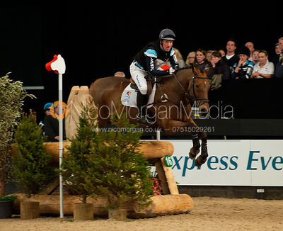 Oliver Townend and Brigadier - HOYS - Express Eventing Cross Country