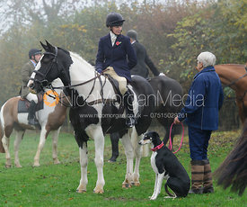 The Cottesmore Hunt in Owston 3/11