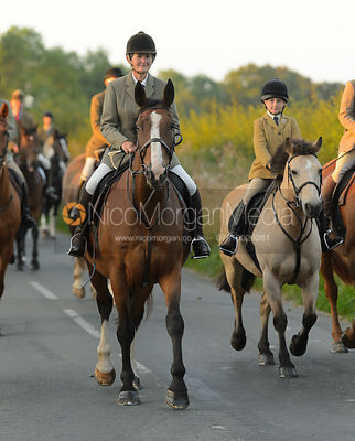 Bee Bell - The Cottesmore Hunt at Furze Hil, Tuesday 29th August 2017.