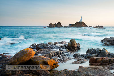 The lighthouse at La Corbiére, St. Brelade, Jersey - BP3832