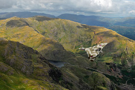 Vulcan low-level in the Lakes