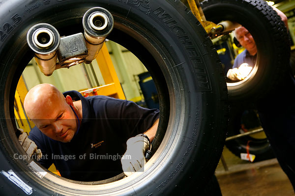 Retreading of tyres, Stoke, Staffordshire,