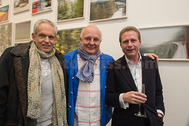 Rolf Sachs Vernissage Opening Reception Event