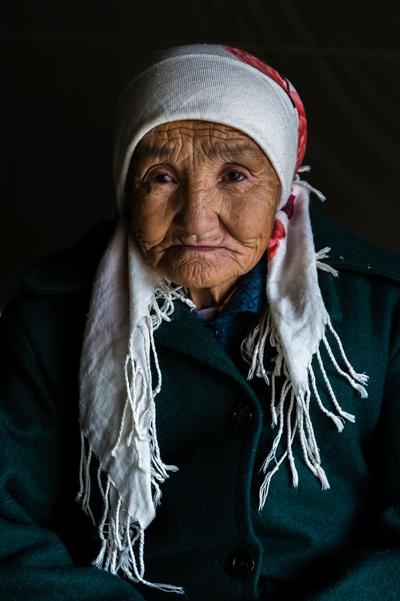 Portrait of a Khazak Woman