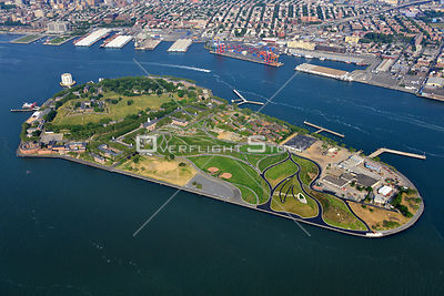 Governors Island Hudson River New York