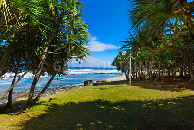Beach at Grande Anse place, Reunion Island