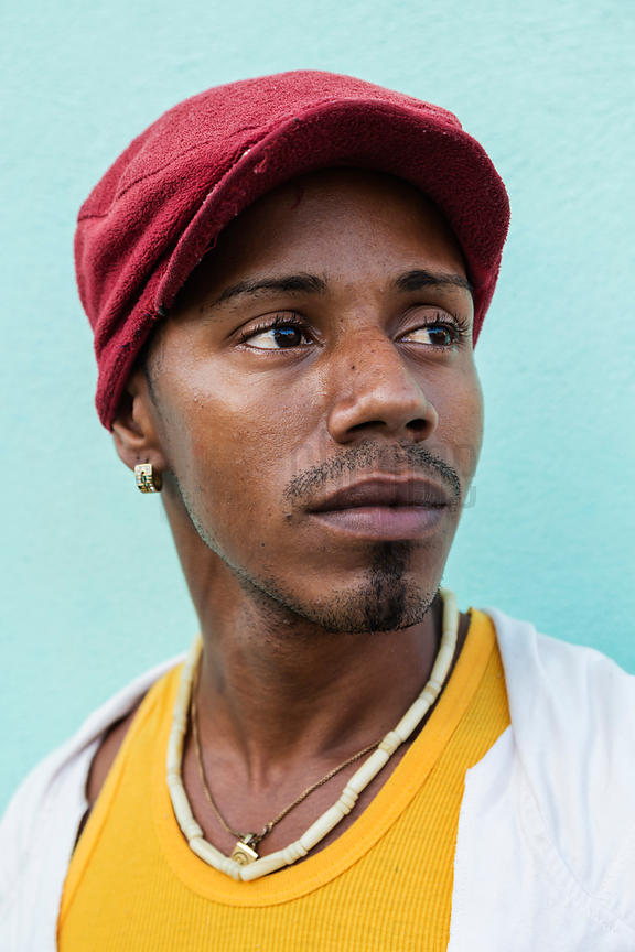 Portrait of a Cuban Man