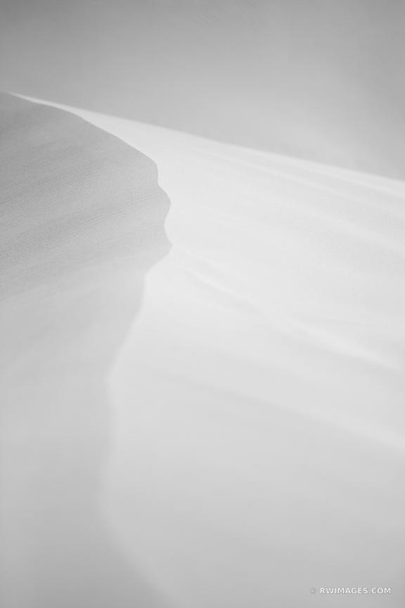 NATURE ABSTRACT GREAT SAND DUNES NATIONAL PARK COLORADO BLACK AND WHITE VERTICAL