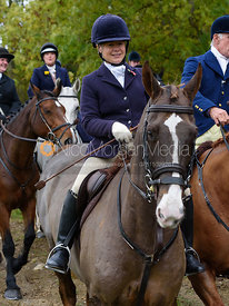 Katie Robinson near Gartree Covert - Quorn Hunt Opening Meet 2016