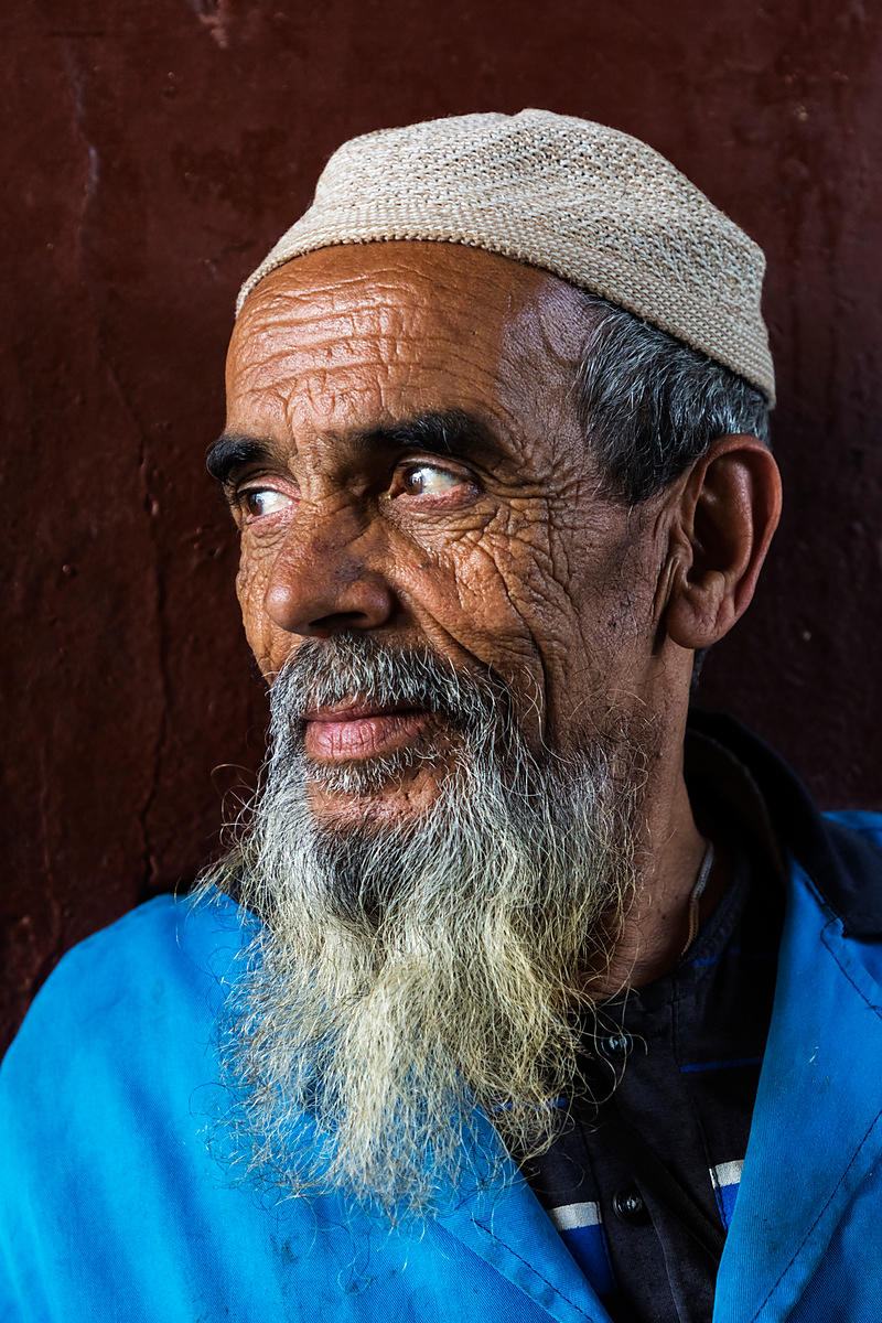 Portrait of a Market Worker