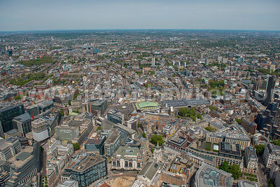 Aerial view of Greater London, London