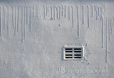 Ventilation Grill in White Wall