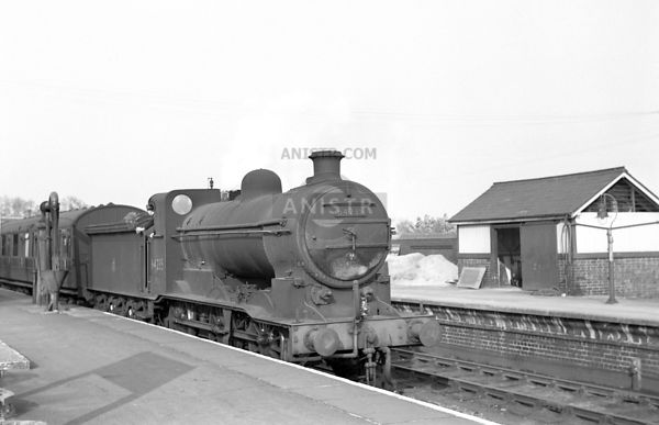 Steam loco J6 64235  Derby Friargate